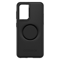 Otterbox Otter + Pop Symmetry Case - For Samsung Galaxy S21 5G - Black
