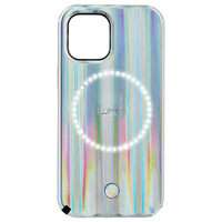 Case-Mate LuMee Halo Case - iPhone 12/12 Pro 6.1 - Holographic Paris Hilton Edition w/ Micropel