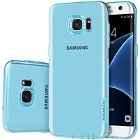 Samsung Galaxy S7 EDGE Nature TPU Case-Blue