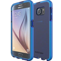 Tech21 Evo Check Case for Galaxy S6 - Blue/White