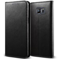 Samsung Galaxy S7 Edge URBAN Genuine Leather - Black
